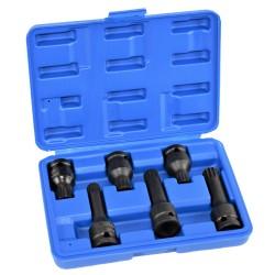 Zestaw nasadek bit spline M14,M16,M18 udar 1/2 cala